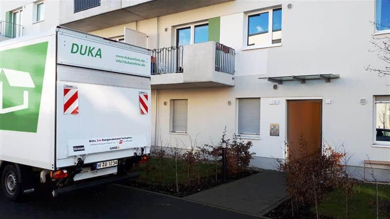 Umzugswagen von DUKA Haushaltsauflösungen & Umzüge